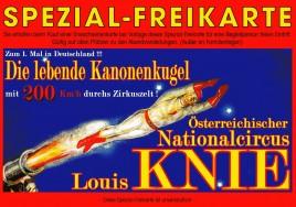 Österreichischer National-Circus Louis Knie Circus Ticket - 0