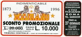 Circo Medrano Circus Ticket - 1996
