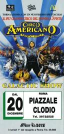 Circo Americano Circus Ticket - 1997