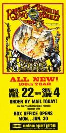 Ringling Bros. and Barnum & Bailey Circus Circus Ticket - 1978