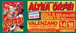 Circo Altea Orfei Circus Ticket - 0