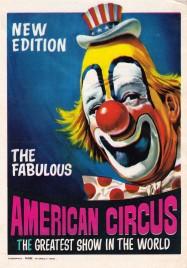 American Circus Circus Ticket - 1970