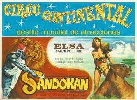 Circo Continental Circus Ticket - 1978