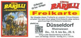 Circus Barelli Circus Ticket - 0