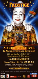 Bouglione - Prestige Circus Ticket - 2010