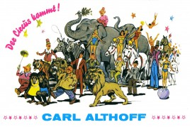 Circus Carl Althoff Circus Ticket - 0