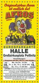 Zirkus Aeros Circus Ticket - 0