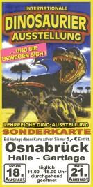 Internationale Dinosaurier Ausstellung Circus Ticket - 0