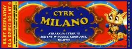 Cyrk Milano Circus Ticket - 0