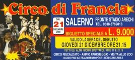 Circo di Francia Circus Ticket - 2000