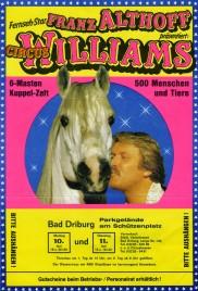 Circus Williams - Franz Althoff Circus Ticket - 1985