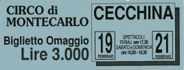 Circo di Montecarlo Circus Ticket - 0