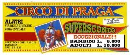 Circo di Praga Circus Ticket - 0