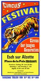 Circus Festival Circus Ticket - 1978
