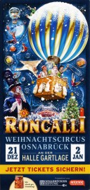 Circus Roncalli - Good Times Circus Ticket - 0