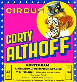 Circus Corty Althoff Circus Ticket - 0