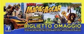 Madagascar Circus Circus Ticket - 2019